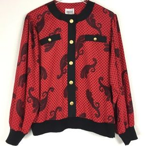 Leslie Fay Collections Vintage Blouse